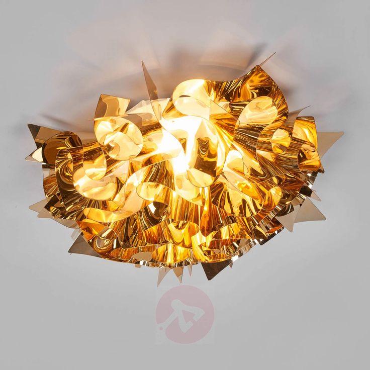 Gylden hengelampe VELI, 53 cm-8503212-01
