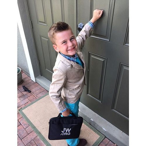 6 year old Brooks from Florida is ready for the ministry.