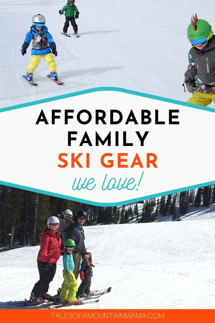 Affordable Family Ski Gear In 2020 Ski Gear Skiing Ski Family