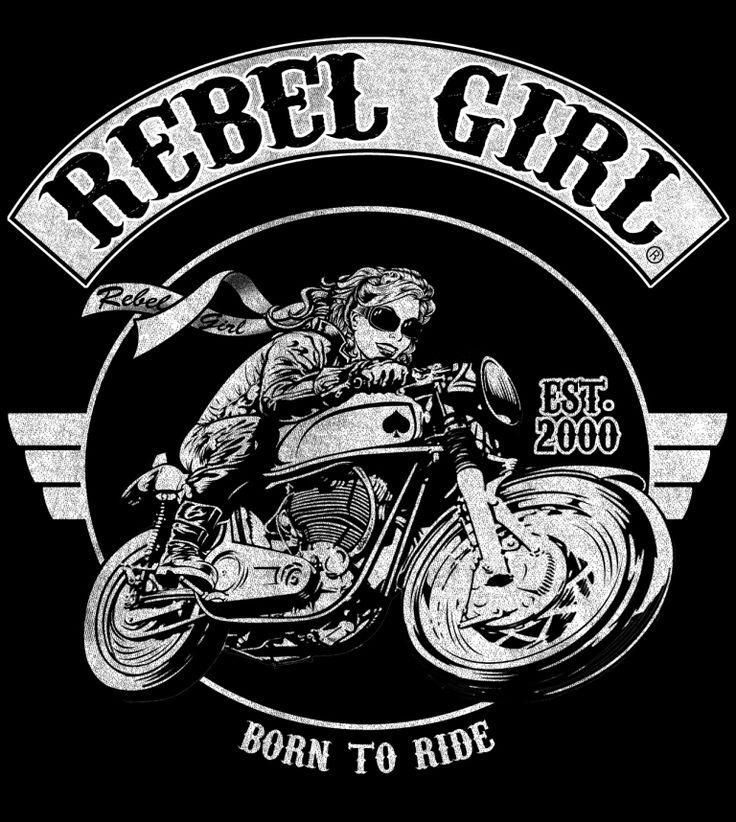 1000 ideas about biker tattoos on pinterest harley for Biker chick tattoos