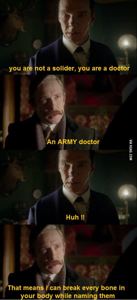 I keep forgetting that John can actually take care of himself without Sherlock around like, dammit, his man was in the military! Don't mess with him