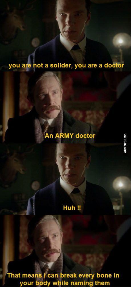 Oh dear Watson!