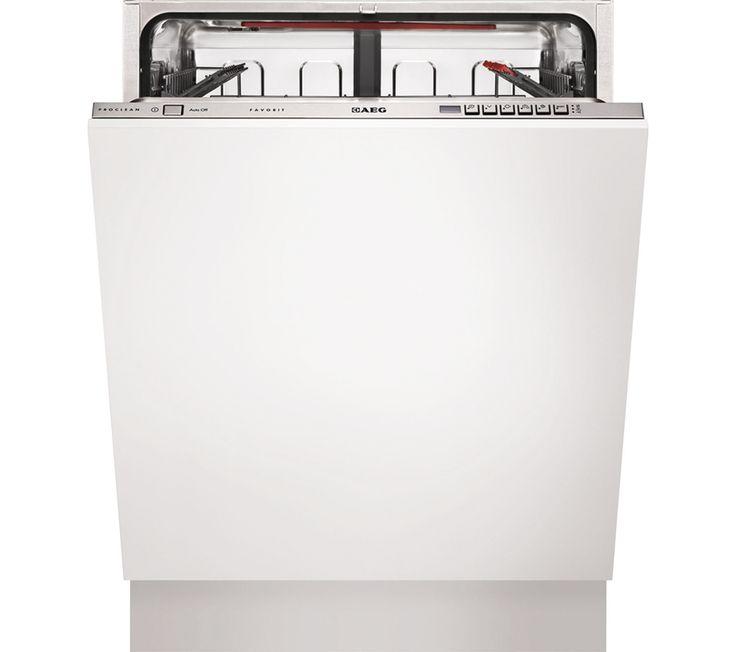 AEG F66602VI0P Fullsize Integrated Dishwasher
