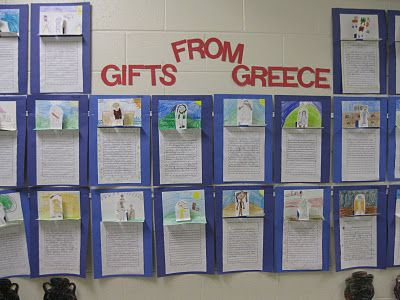 Ancient Greece - Writing Activity