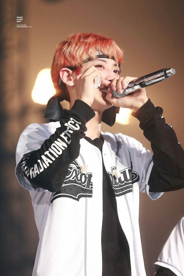 Chanyeol crying at the EXOrDIUM  EXO