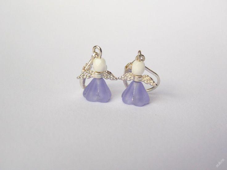 Andílkové naušnice - Dobročinná aukce