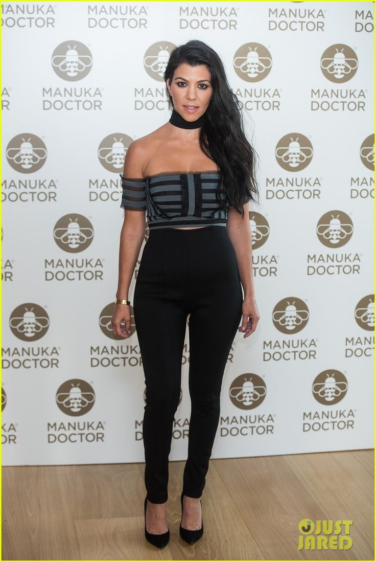 Kourtney & Khloe Kardashian Call Kris Jenner a 'Drunk' in Funny New 'KUWTK' Clip: Photo #3676695. Kourtney Kardashian strikes a pose while attending a photo call as global brand ambassador for Manuka Doctor at The London Edition Hotel on Wednesday (June 8) in…