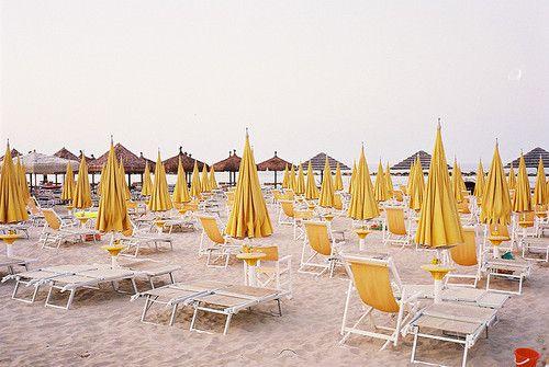 Pescara Beach, Abruzzo, Italy