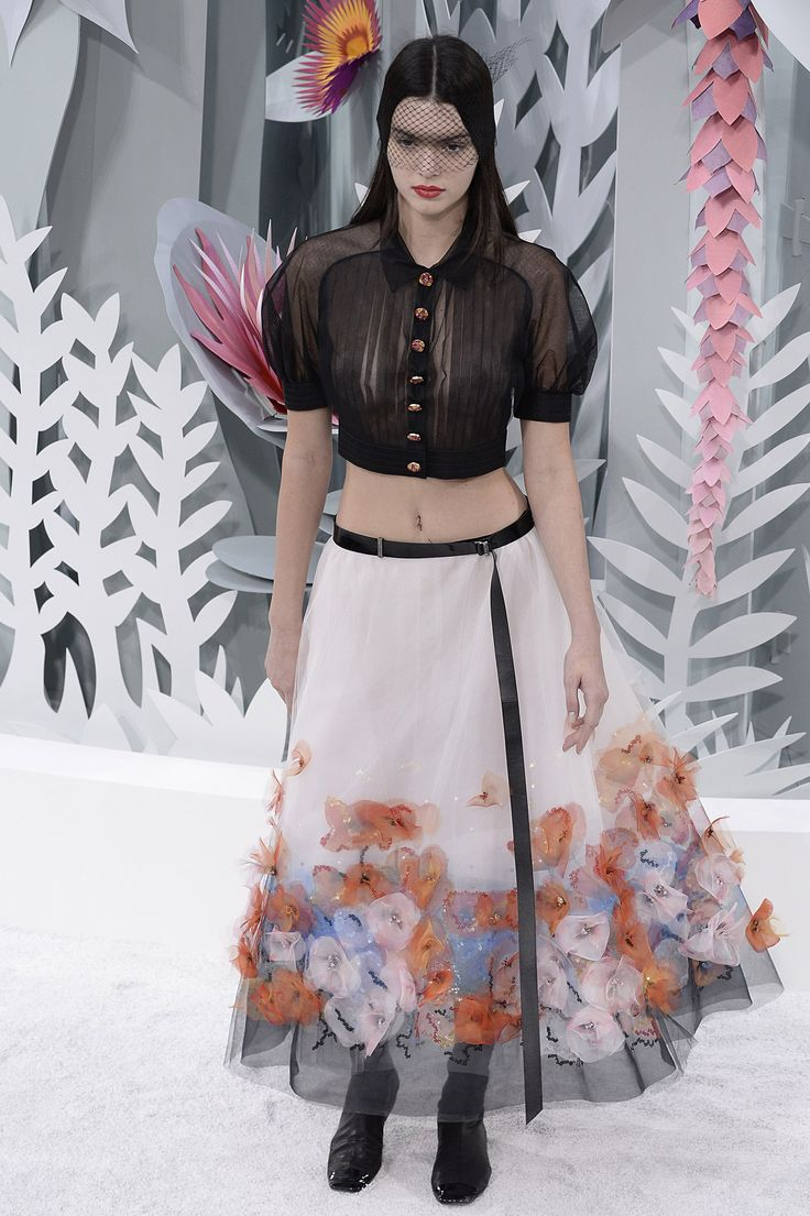 Trendspotting: Sheer Tops at Haute Couture  - ELLE.com