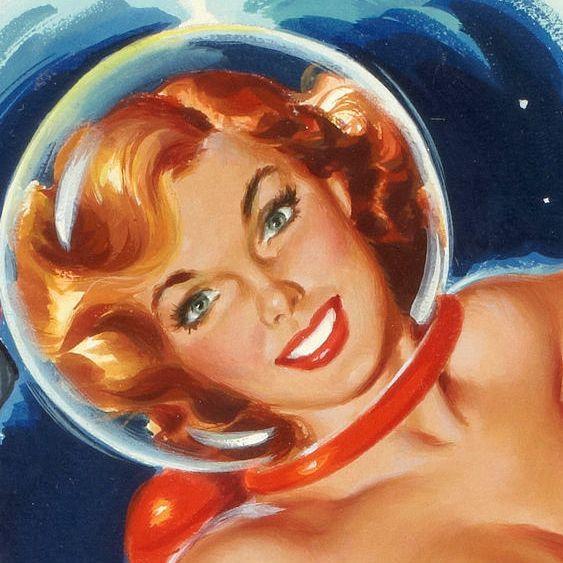 58 Best Retro Scifi Images On Pinterest: 57 Best Pin-Up (Sci-Fi) Images On Pinterest