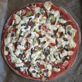 makrobiotická pizza