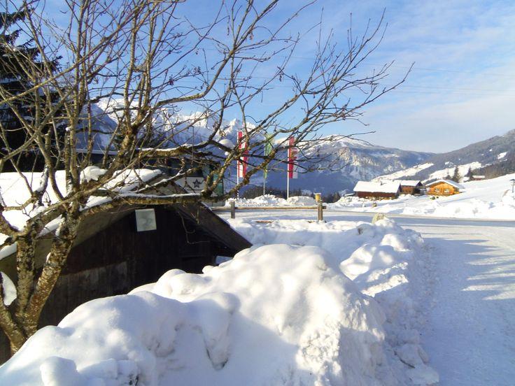 Skitur til Østrig med Silkeborgskolen i vinterferien 2012.