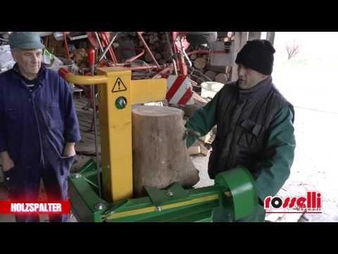 "Holzspalter mit 6 ton Elektromotor 380V "" Eco 96 T "" Rosselli Snc"