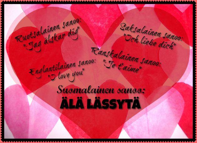 """Rakkauden kielioppia - Osaatko sanoa """"Minä rakastan sinua""""?"""