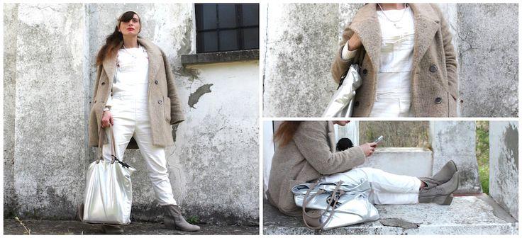 #shoes #boots #outfit #lifestyle #coat #fashionblogger #salopette #dungaree idee-outfit-tuta-cappotto-scarpe-deichmann