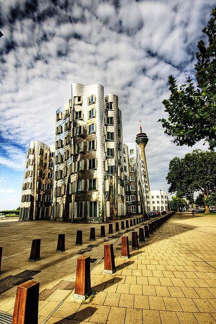 #Medienhafen #Dusseldorf