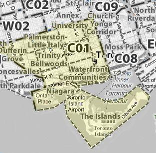 :: TorontoMLS | TREB District & Postal Code Maps ::