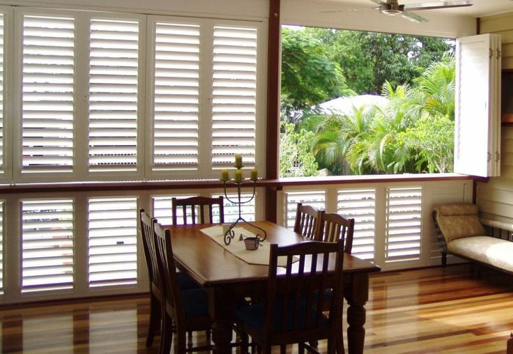 Security shutters Bi-Fold patio enclosure units #securityshutters #commercialshutters #shutters