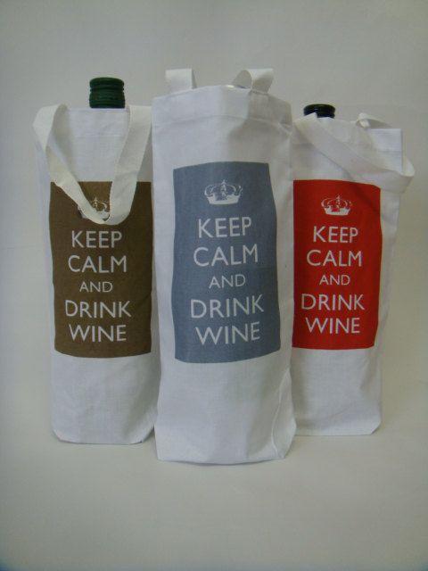 Wine Bag by BigHeartCompanyUK on Etsy