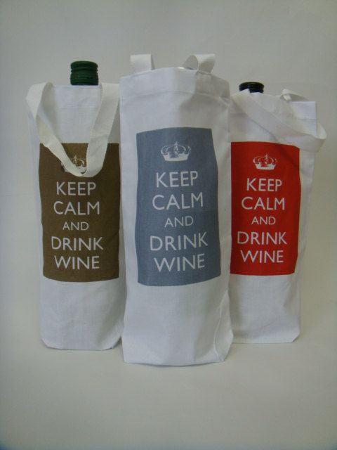Wine Bag by BigHeartCompanyUK on Etsy