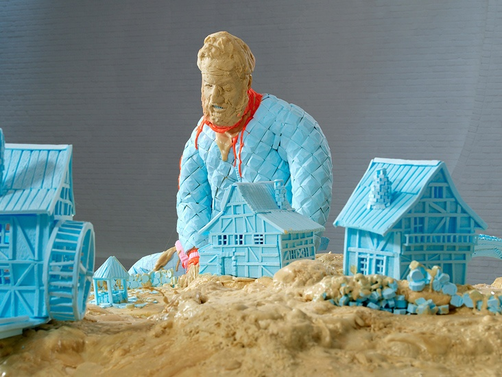 Folkert de Jong, The Sculptor, The Devil and The Architect (detail), 2006