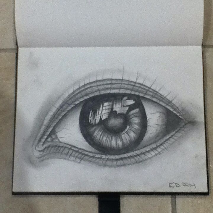 An eye drawing I created completely myself