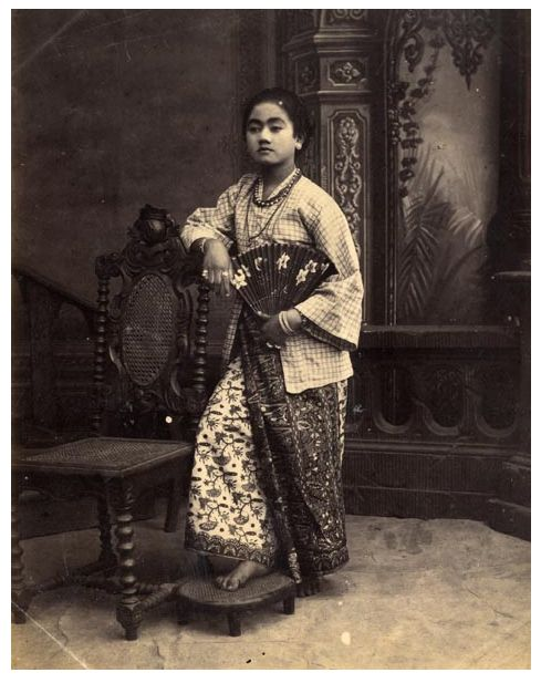Indo-Chinese woman, Java, Indonesia, c. 1870