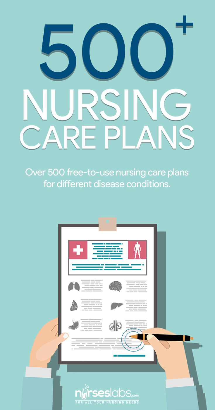 500+ Nursing Care Plans by Nurseslabs. Free to use and free to download!   The end product of the nursing process' planning phase is a plan of care or also known as a nursing care plan (or simply a care plan). We have collated and created a wide selection of nursing care plans for our nurses and student nurses to use. Feel free to use these nursing care plans (NCPs) to your assignments and requirements.  Nursing care plans provide a means of communication among nurses, their patients, and ot