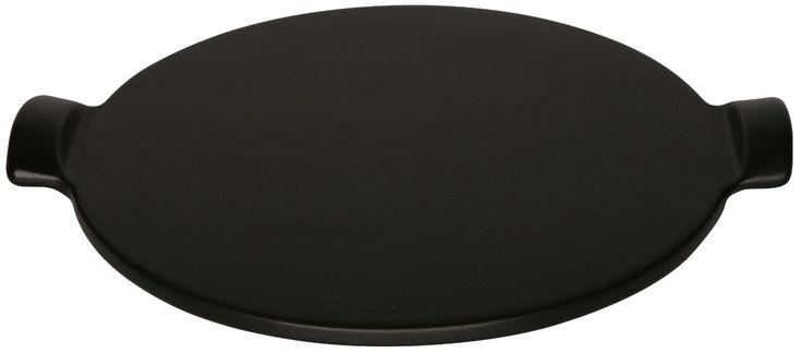 Amazon.com: Emile Henry Flame Top Pizza Stone, Black: Kitchen & Dining