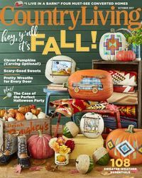 October 01, 2017 issue of Country Living