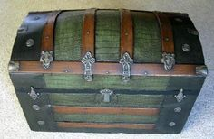 a lot like the trunk from my great aunt.   Antique Trunk Restoration