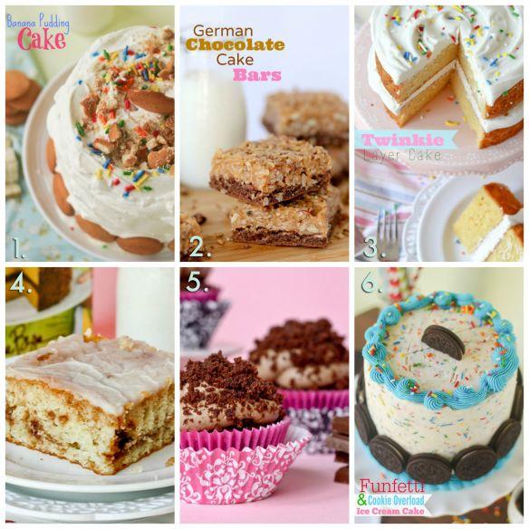 20 Plus Recipes Using Cake Mix