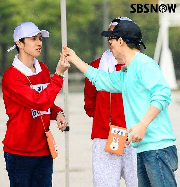 KEN & YOO JAE SUK @ Running Man cr: sbsnow_insta