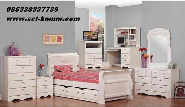 Tempat Tidur Anak Sorong atau sSet kamar Tidur untuk anak Model Sorong Minimalis full Lengkap Model Terbaru harga Murah 2016 By Furniture Jepara