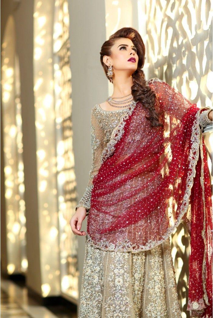 78 ideas about pakistani designer clothes on pinterest for Pakistani designer wedding dresses 2017