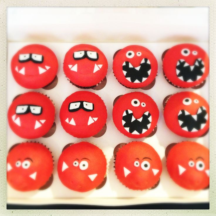 Red nose day cupcakes! Old Market Cakes, Bristol