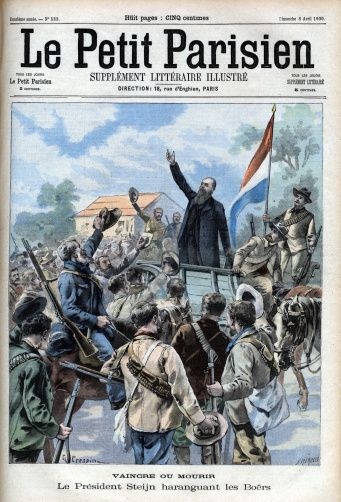 The Second Boer War In The Transvaal President Steyn Exhorting The ...