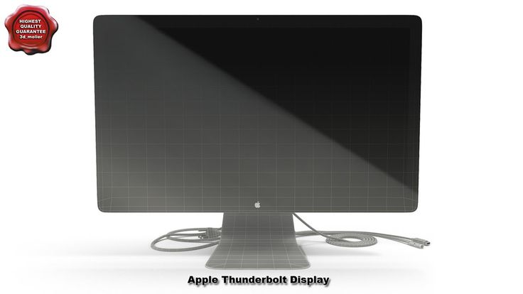 3d model of Apple Thunderbolt Display by 3d_molier International