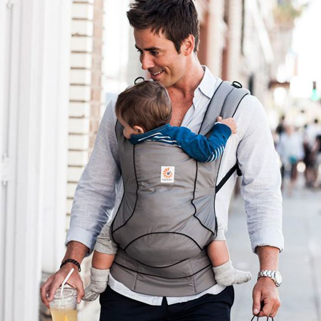 Ergobaby Travel Collection Ergo Baby Carrier - Urban Chic Graphite | Baby Gear  www.duematernity.com