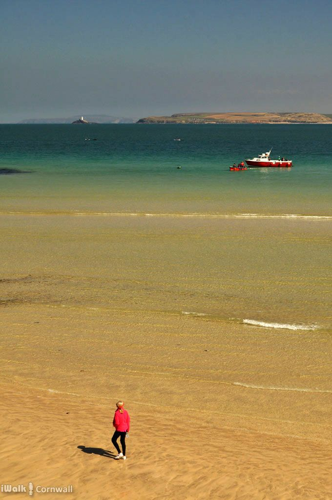 St Ives Harbour Beach, Cornwall