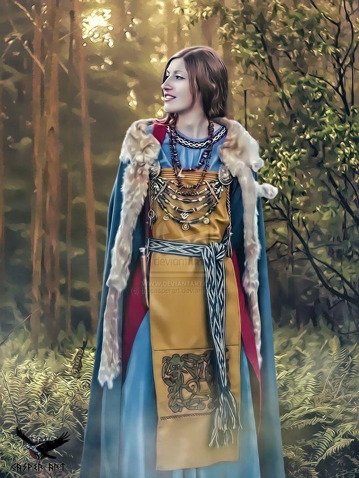 Sociedad Vikinga (I). El papel de la mujer en la sociedad vikingo ...