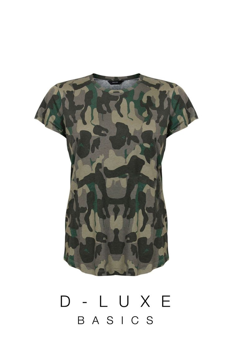 LUXE PRINTED TEE