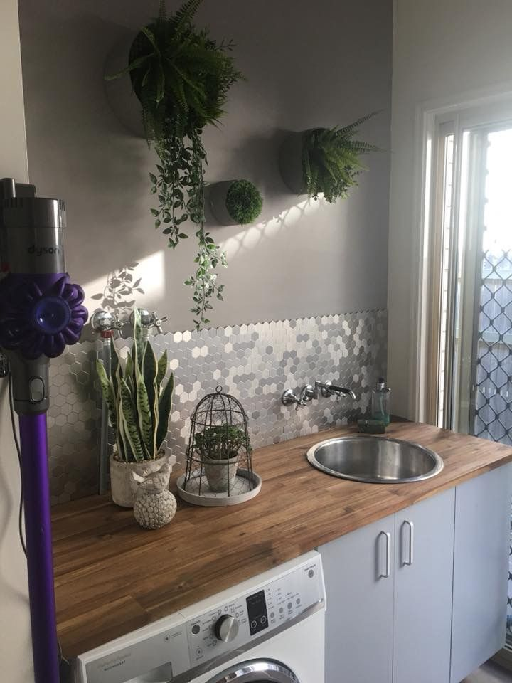 Laundry Bunnings Self Adhesive Tiles Bunnings Timber Bench Small Laundry Rooms Dream Laundry Room Tiny Laundry Rooms