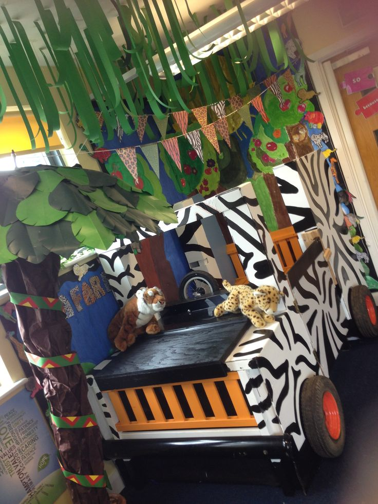 Safari Jeep Classroom Role Play Jungle