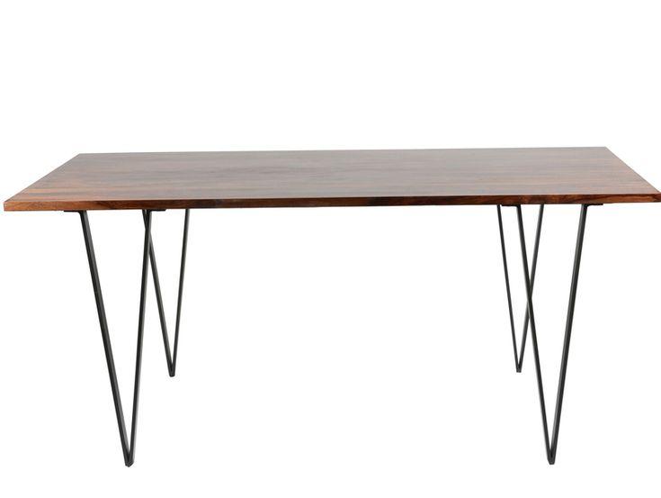 Matrix Dining Table - Sheesham Rosewood