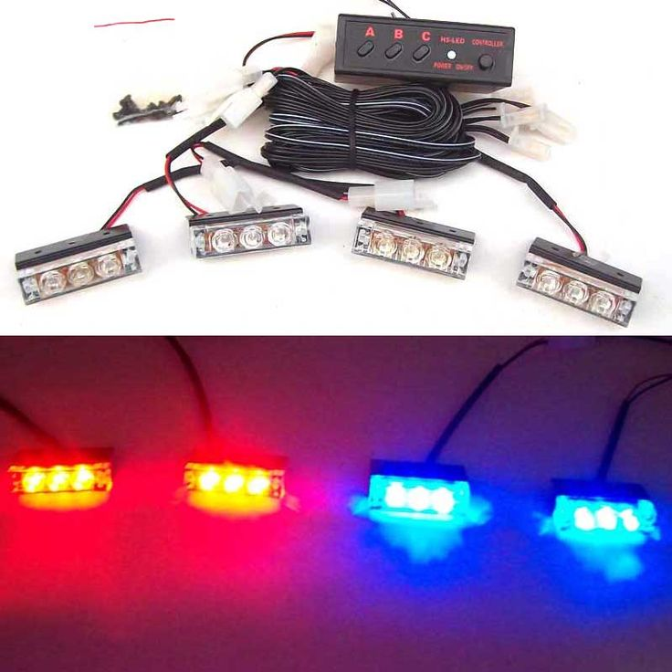 $19.99 (Buy here: https://alitems.com/g/1e8d114494ebda23ff8b16525dc3e8/?i=5&ulp=https%3A%2F%2Fwww.aliexpress.com%2Fitem%2F4x3-LED-white-amber-red-blue-green-strobe-light-led-green-flash-light-Fire-Flashing-Blinking%2F32355927730.html ) 4x3 LED white amber red blue green strobe light led green flash light Fire Flashing Blinking Strobe Emergency Car Lights Kit for just $19.99