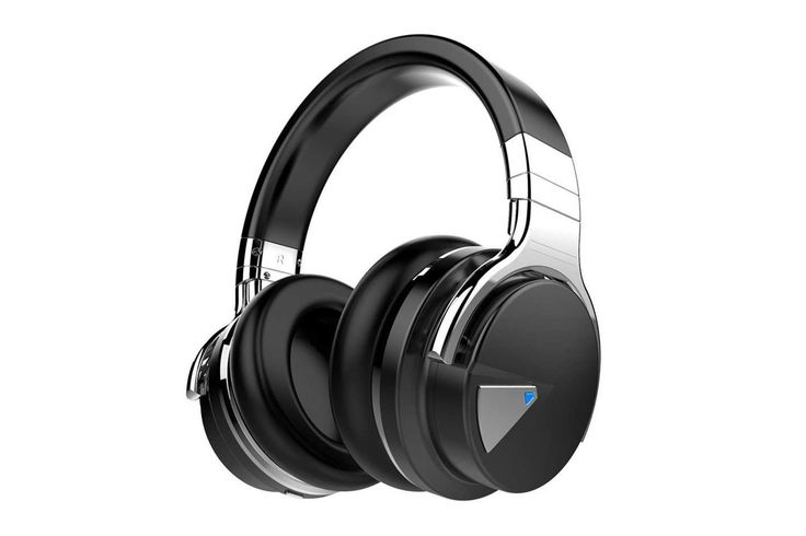 "COWIN E7 Active Noise Cancelling Bluetooth Headphones with Microphone Hi-Fi Deep Bass Wireless Headphones Over Ear — ""If he just needs cheap wireless headphones, these well-reviewed ones cancel noise, have microphone capabilities, and are under $100."""