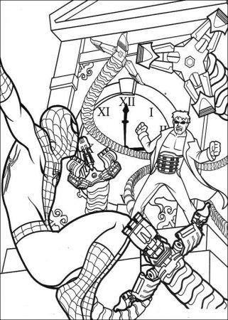 spiderman ausmalbilder-15 #ausmalen #spiderman | libri da