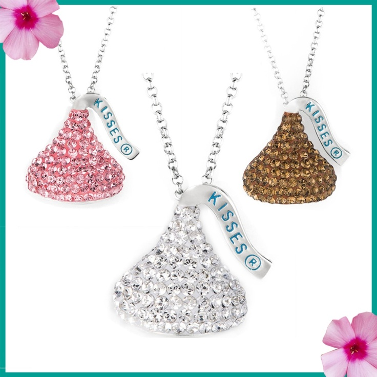 12 best hersheys kiss jewelry images on pinterest hersheys hershey kiss necklaces mozeypictures Image collections