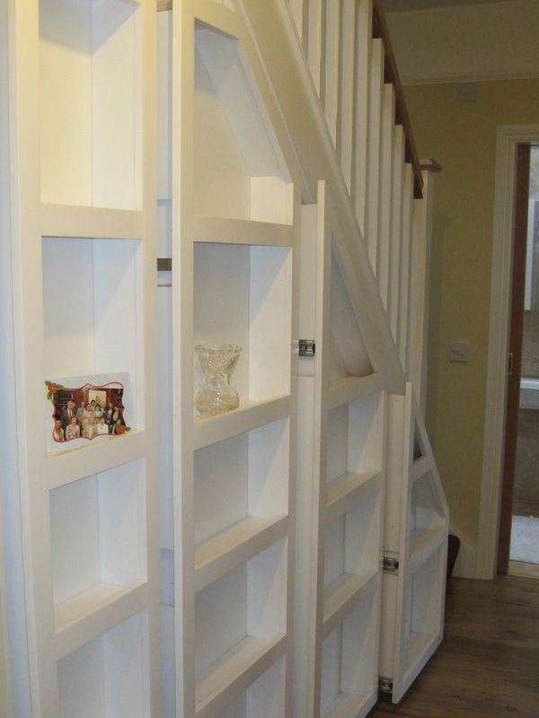 Under Stairs Storage Systems - Under Stair Space Solutions from Bneatstairs